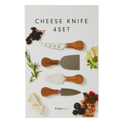 CHEESE Knife 4P Set