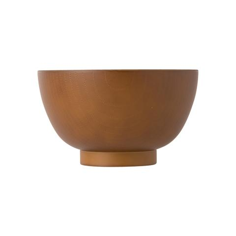 WOOD RICE BOWL Small Brown