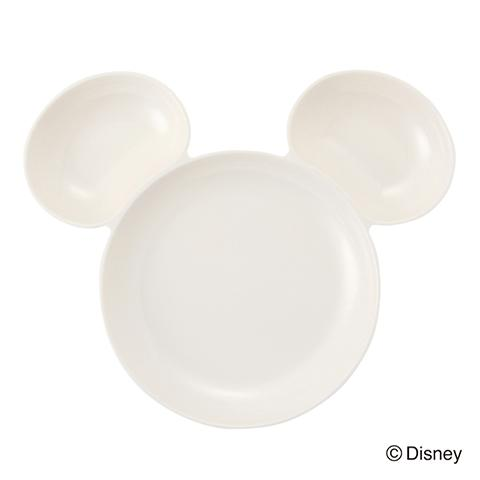 DSY MC MELAMINE SEPARATE PLATE IVORY