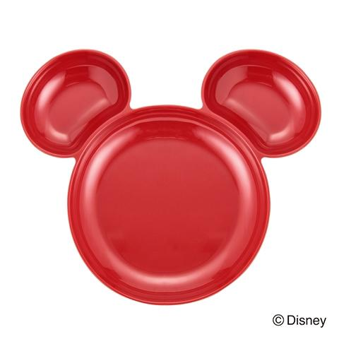 DSY Mc Melamine Separate Plate Red