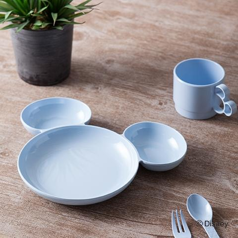 DSY MC MELAMINE SEPARATE PLATE BLUE