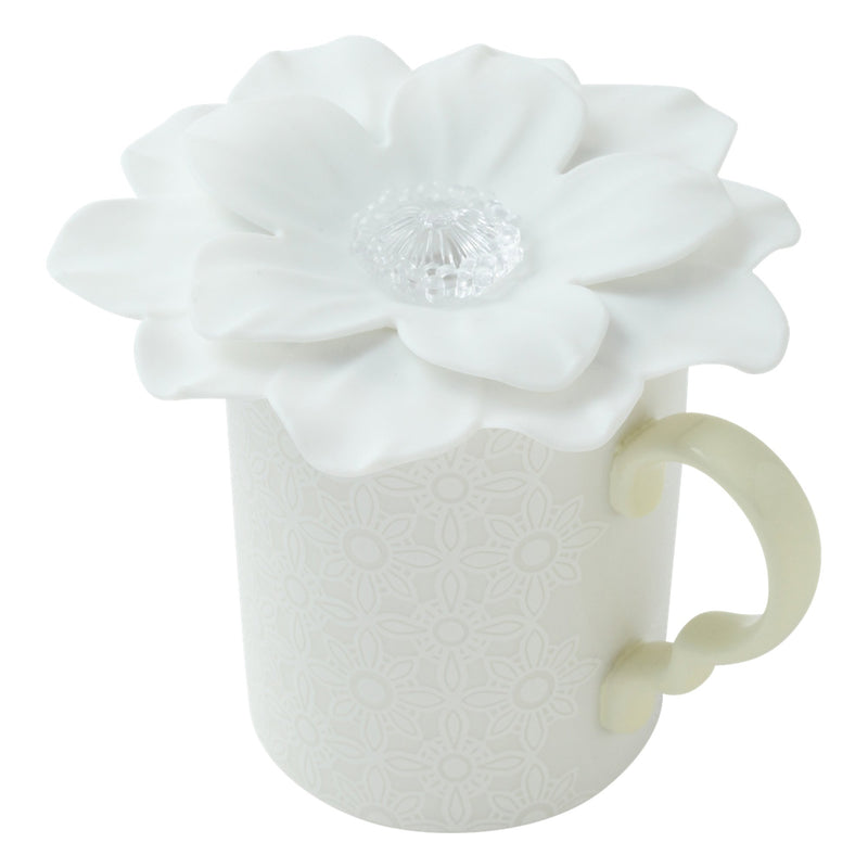 FLOWER Cup Cover Cherryblos White