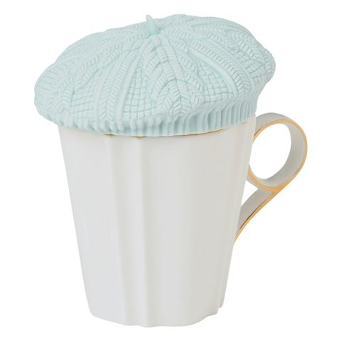 PUTON Cup Cover Beret Light Blue