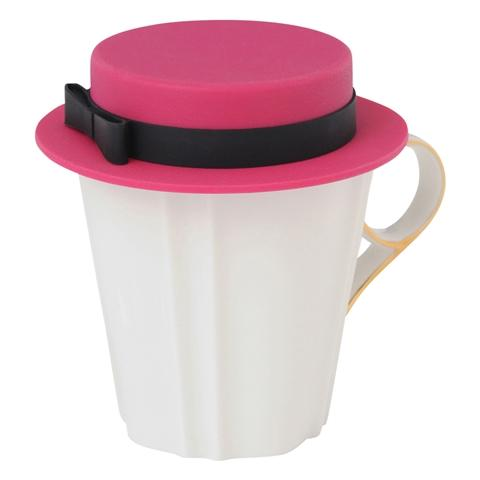 PUTON CUP COVER HAT RED