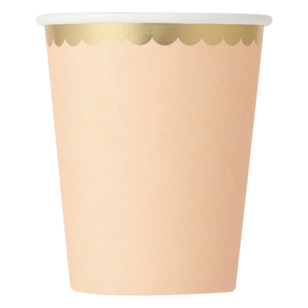 PAPER CUP 8P FRILL Pink