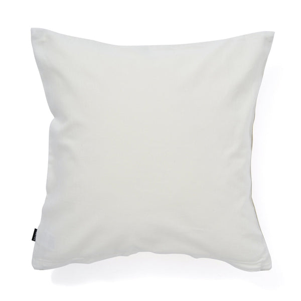 SHINY STRIPE CUSHION COVER 45 IVORY