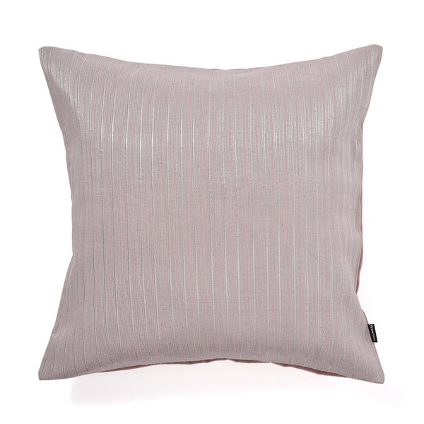 SHINY STRIPE CUSHION COVER 45 LIGHT PINK