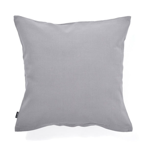 SHINY STRIPE CUSHION COVER 45 LIGHT GRAY