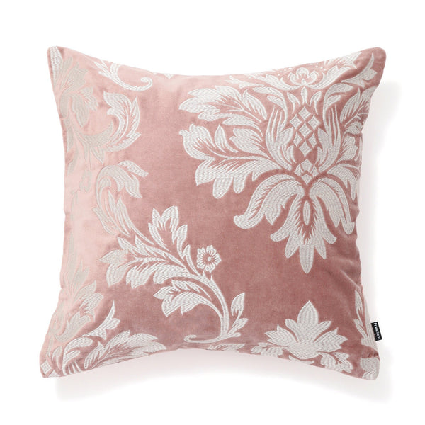 EMB ORNAMENT C CUSHION COVER 45 PINK