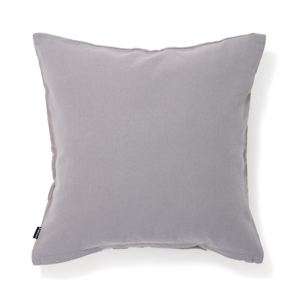 EMB ORNAMENT C CUSHION COVER 45 GRAY