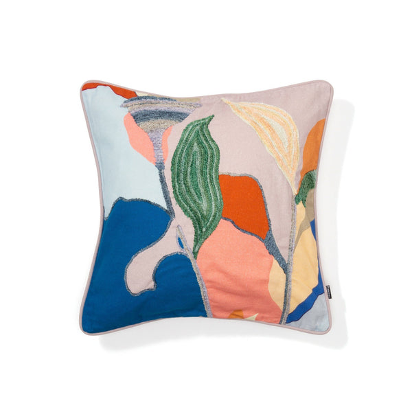 PRINT DRAWING CUSHION COVER 45 MULTI