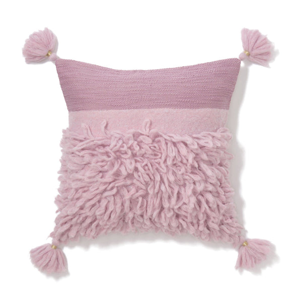 MOHAIR SOLID CUSHION COVER 45 LPU