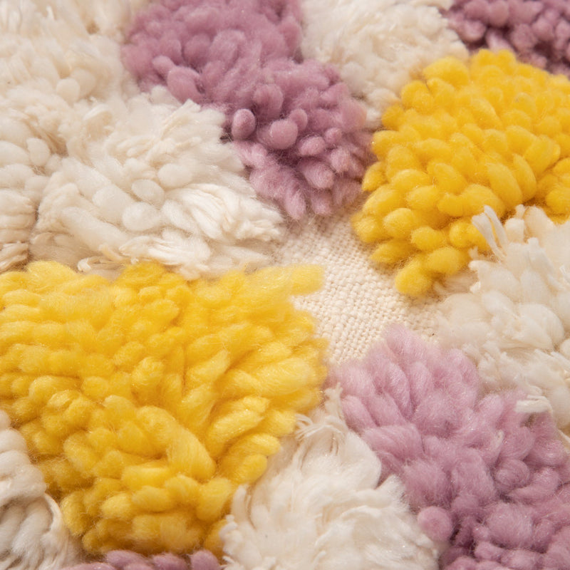 TUFT FLOWER CUSHION COVER 45 PKXYE