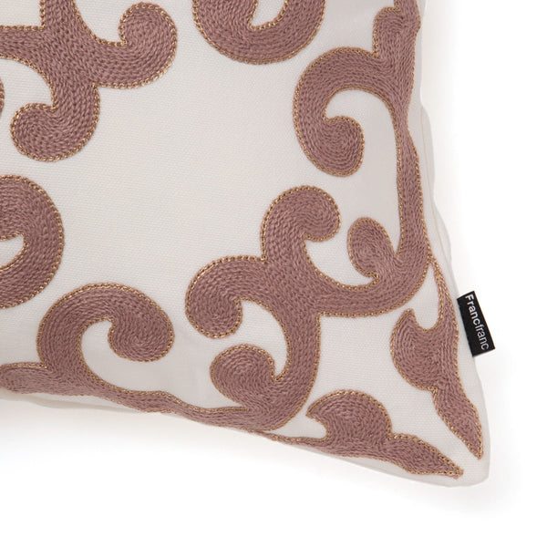 EMB ORNAMENT E CUSHION COVER 45 PK