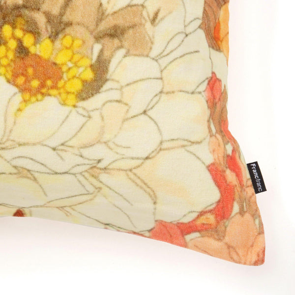 VELVET FLOWER C CUSHION COVER 45 MULTI