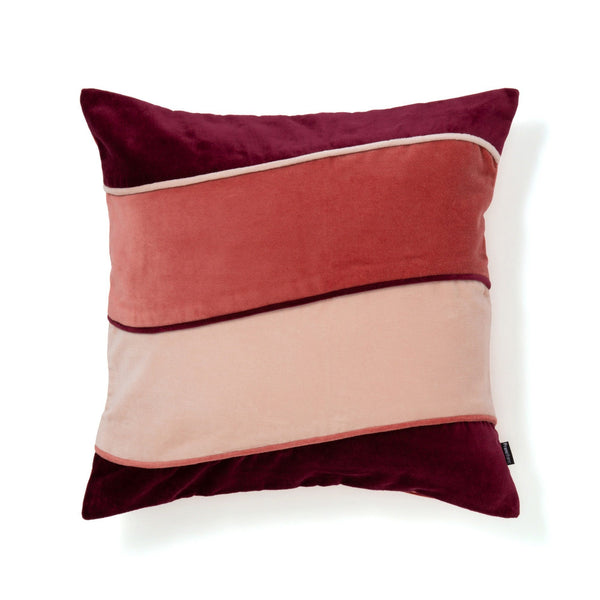 VELVET PATCHWORK CUSHION COVER 45 DRDXPK