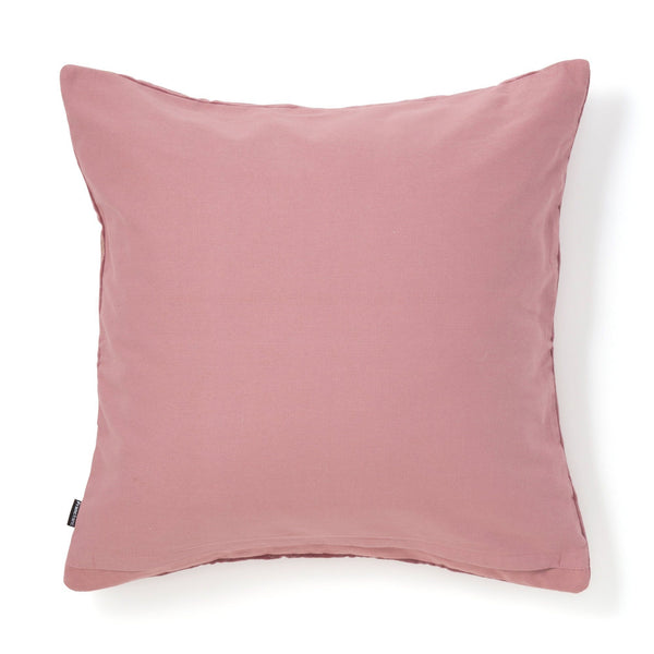 EMB GEOMETRIC CUSHION COVER 45 PURPLE