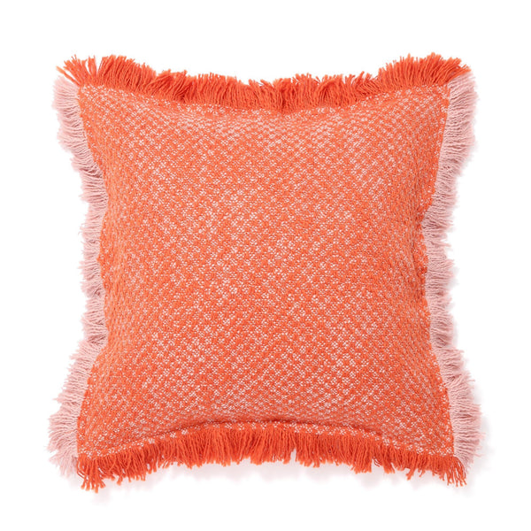 FLWR TUFT CUSHION COVER 45 Pink