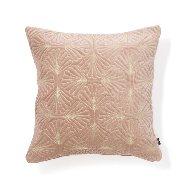 VELVET SCALE CUSHION COVER 45 PINK X GOLD