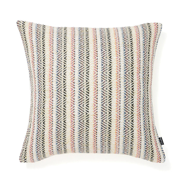 STRIPED DIAMOND CUSHION COVER 45 MULTI