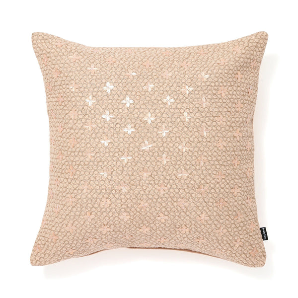 EMB SEQUINS CUSHION COVER 45 Pink