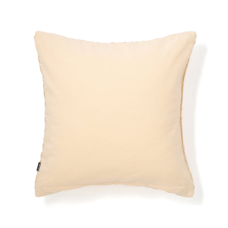 SMOCKING CUSHION COVER 45 LIGHY BEIGE X GOLD