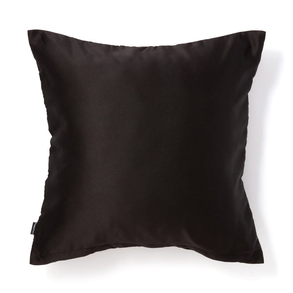 EMB PLANT CUSHION COVER 45 BK