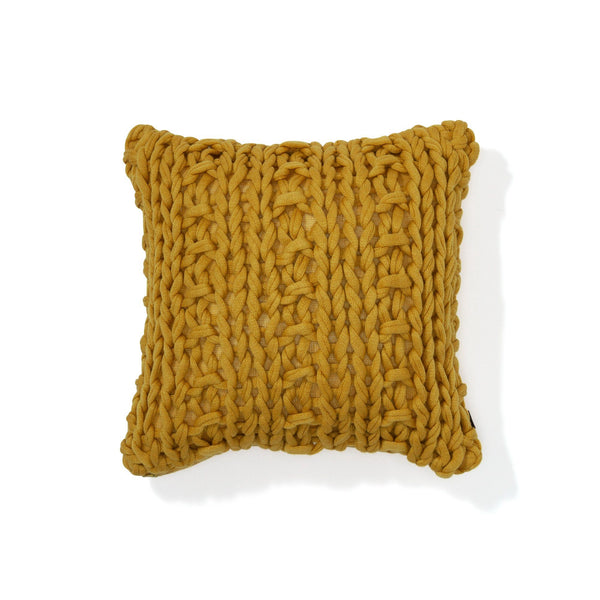 KNIT SOLID B CUSHION COVER 45 YE
