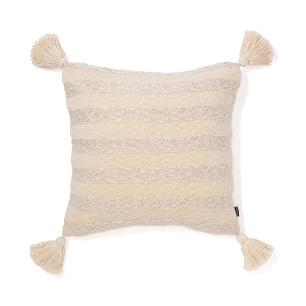 KNIT BORDER CUSHION COVER  45 NTXSV