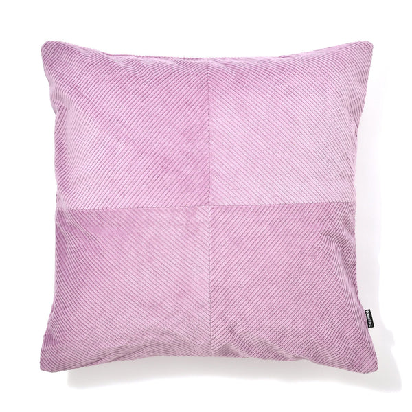 CORDUROY SOLID B CUSHION COVER 45 PURPLE