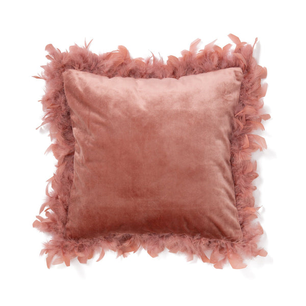 VELVET FUR CUSHION COVER 45 PK