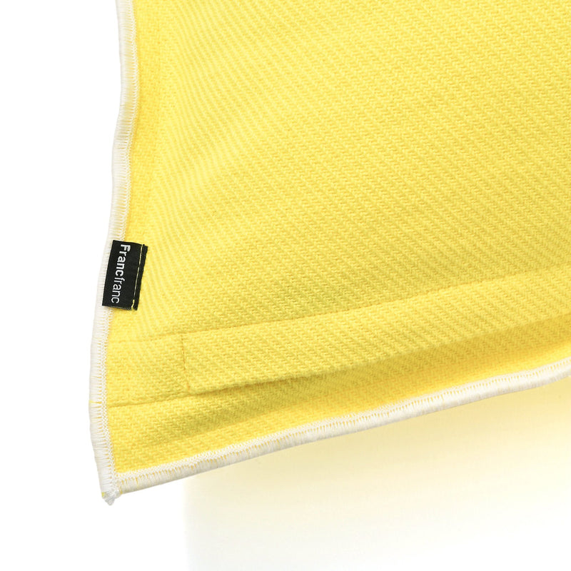 COTTON SOLID CUSHION COVER 45 Yellow