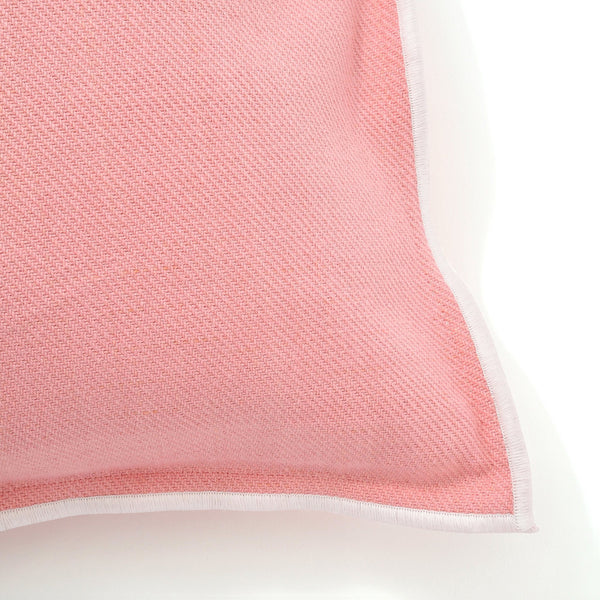 COTTON SOLID CUSHION COVER 45 Pink