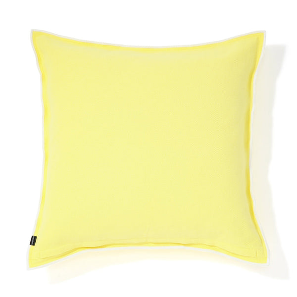 COTTON SOLID CUSHION COVER 60 Yellow