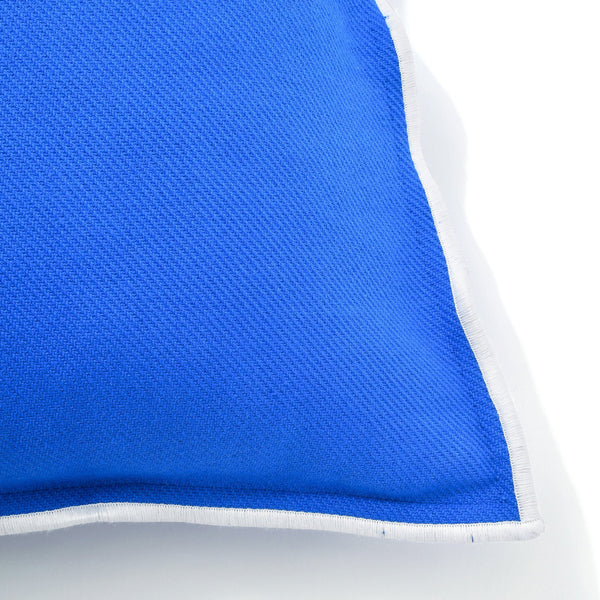 COTTON SOLID CUSHION COVER 45 Blue