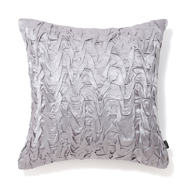 SMOCKING CUSHION COVER 45 Light Gray