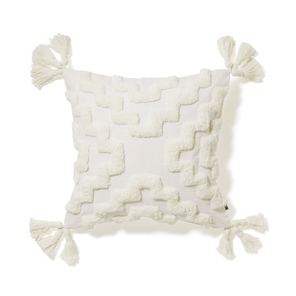GEOME TUFT G012 CUSHION COVER 45 WHITE