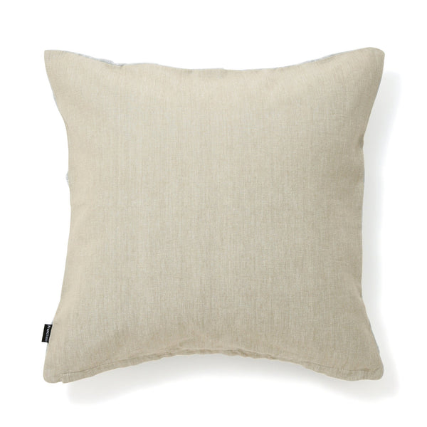 SMOCKING CUSHION COVER 45 Light Gray X Silver
