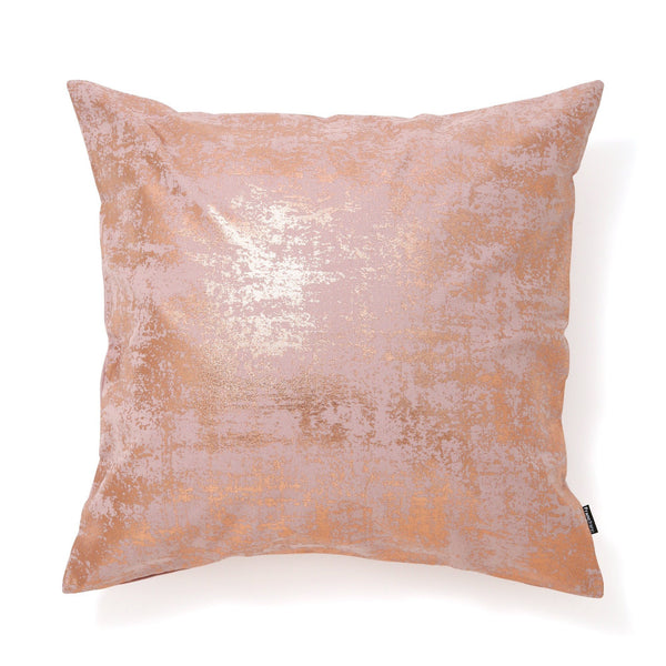 FOIL CUSHION COVER 45 Pink X Gold