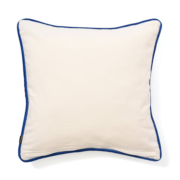 ART PT CUSHION COVER 45 WHITE X BLACK