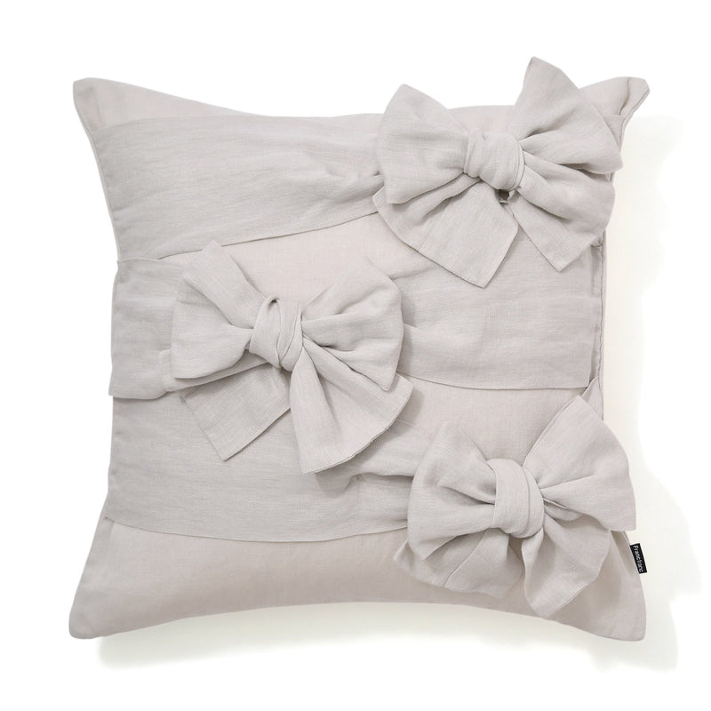 3D RIBBON CUSHION COVER 45 Gray