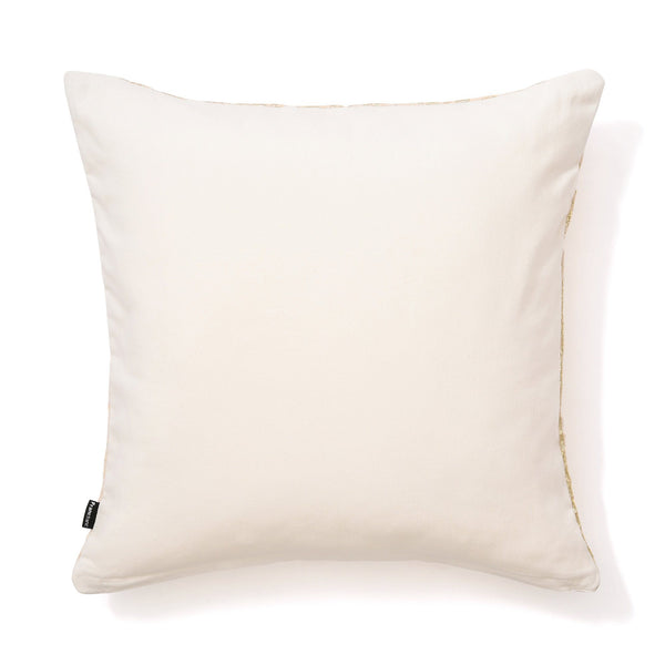 PEARL CUSHION COVER 45 IVORY X GOLD