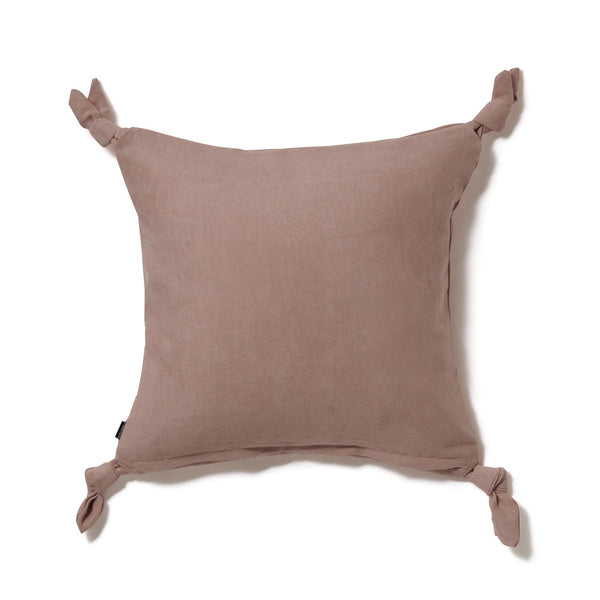 SOLID KNOT CUSHION COVER 45 Pink