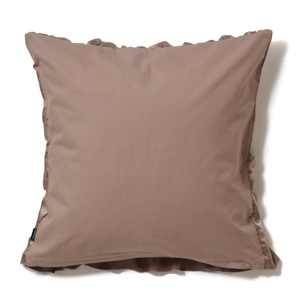 FRILL SATIN CUSHION COVER 45 PINK