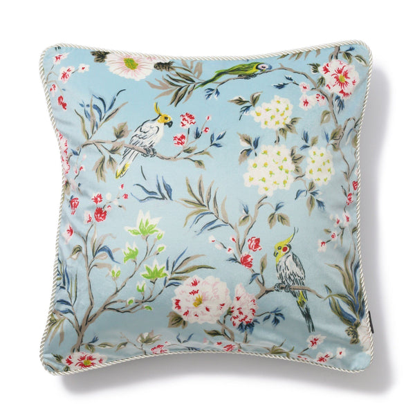 CHARMEE CUSHION COVER BIRD Blue( Francfranc by KEITA MARUYAMA )