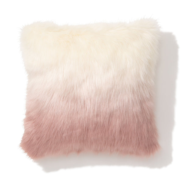 LUFFER CUSHION COVER Pink