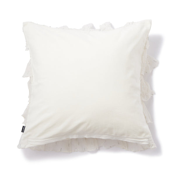 LOLANNE CUSHION COVER White