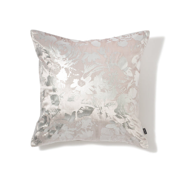 GLOVELY CUSHION COVER Gray x Sliver