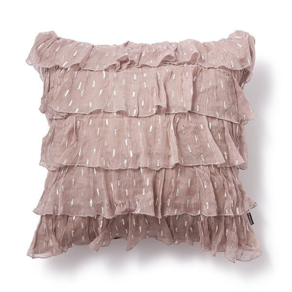 LOLANNE CUSHION COVER LIGHT PINK