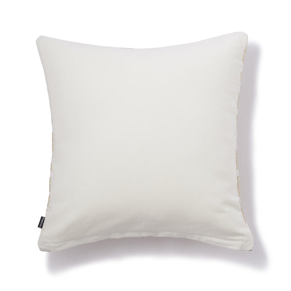 LEOPADY CUSHION COVER White x Gold